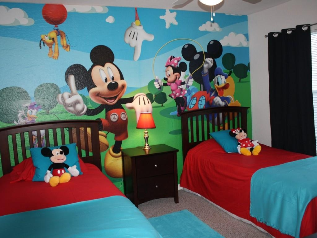 Mickey Mouse Room Décor With Regard To Mickey Mouse Clubhouse Wall Art (View 14 of 20)