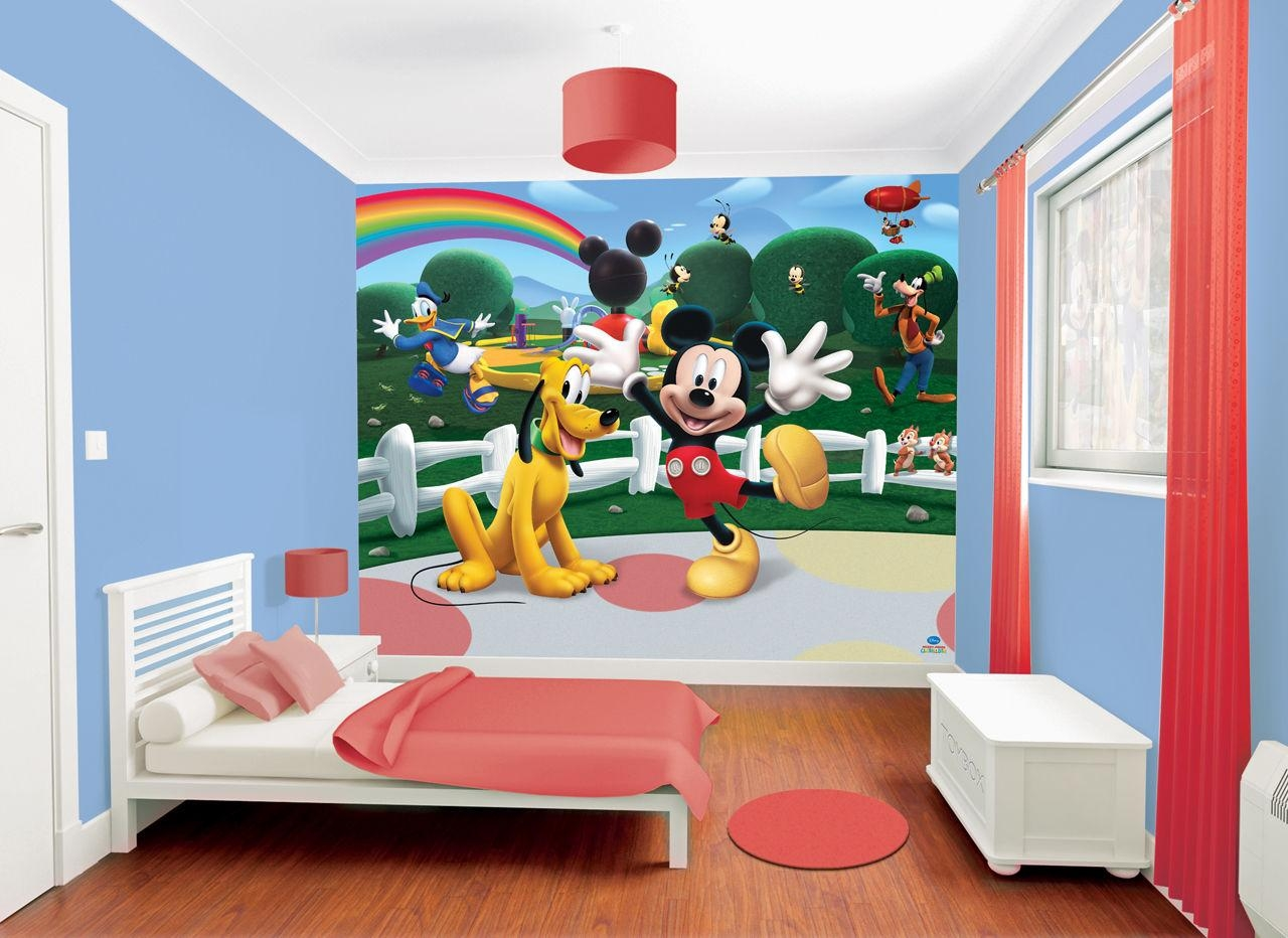 Mickey Mouse Wall Art Ideas – Minnie Mouse Room Decor For In Mickey Mouse Clubhouse Wall Art (View 10 of 20)