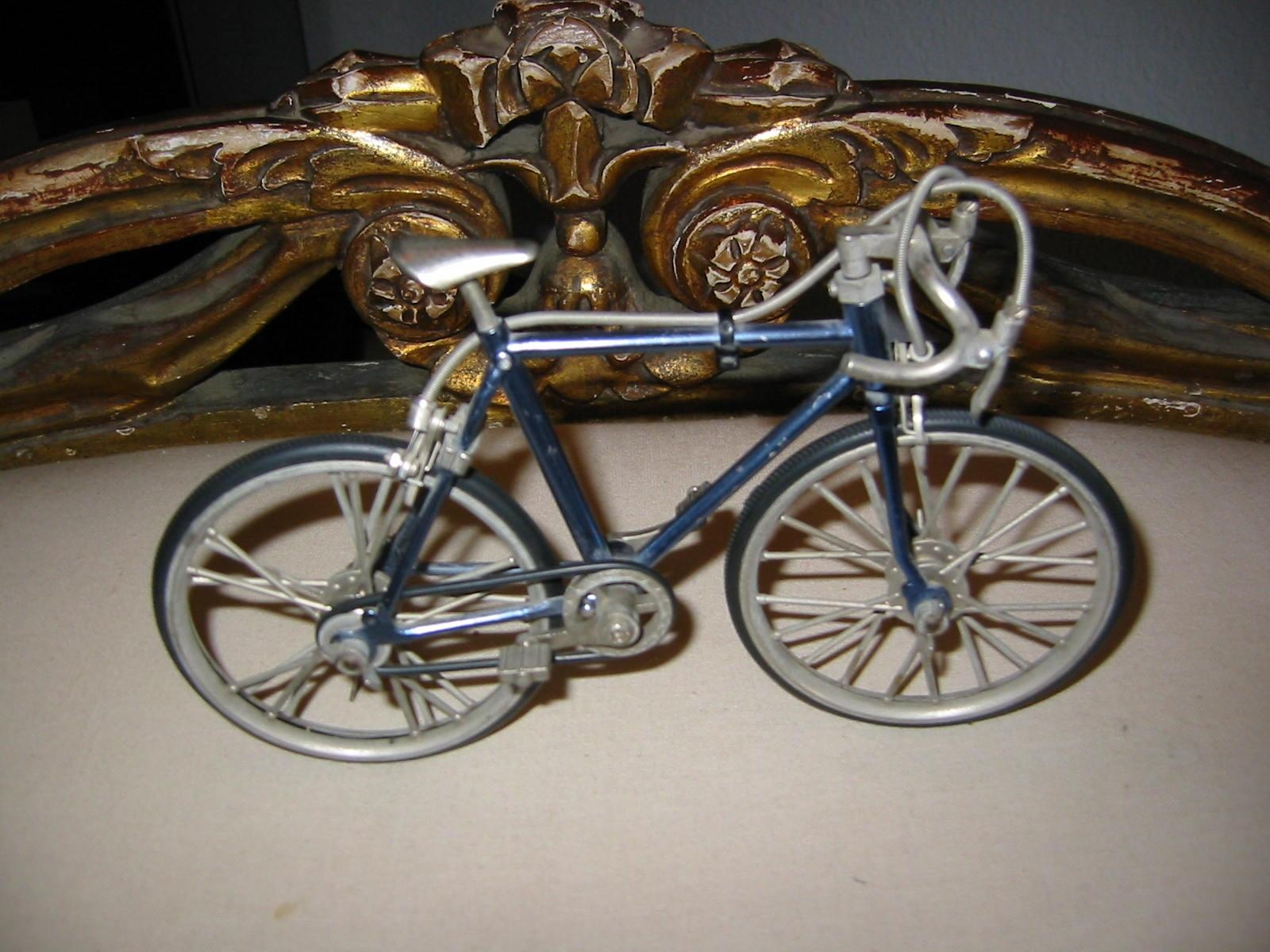 Mid Century Metal Bicycle Folk Art Sculpture For Sale | Antiques With Metal Bicycle Art (Image 14 of 20)