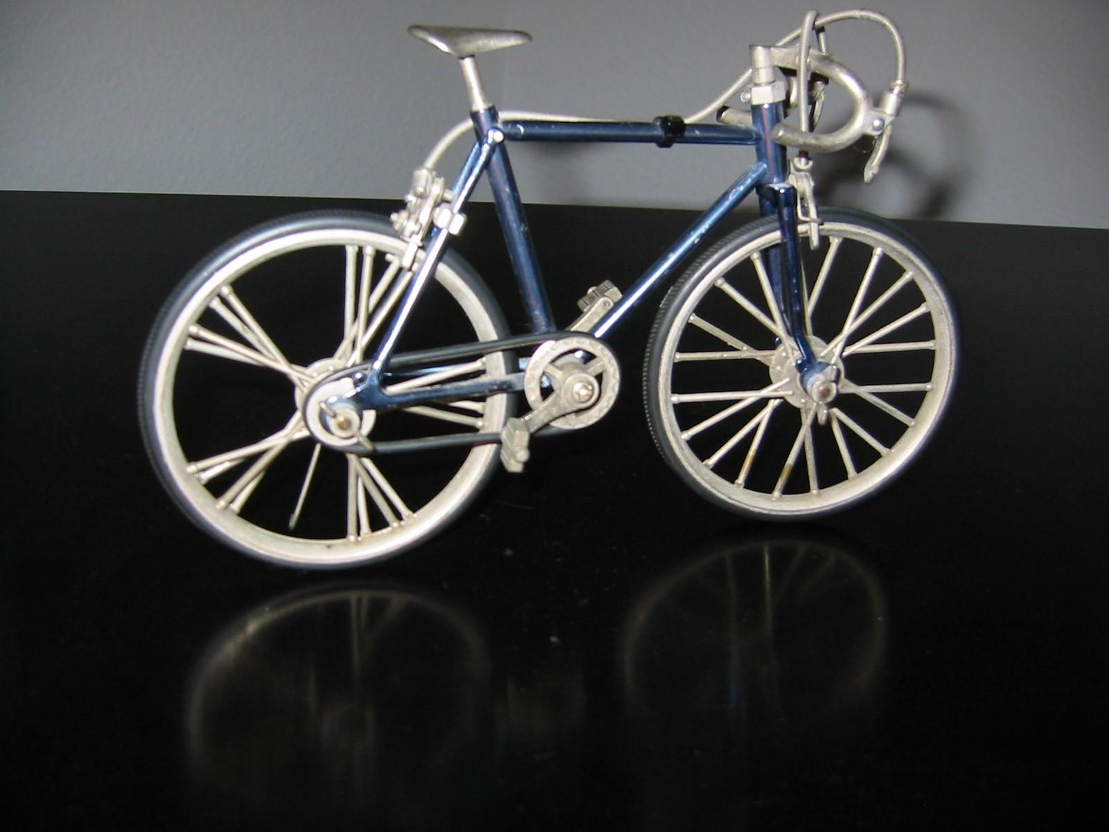 Mid Century Metal Bicycle Folk Art Sculpture For Sale | Antiques With Metal Bicycle Art (Image 13 of 20)