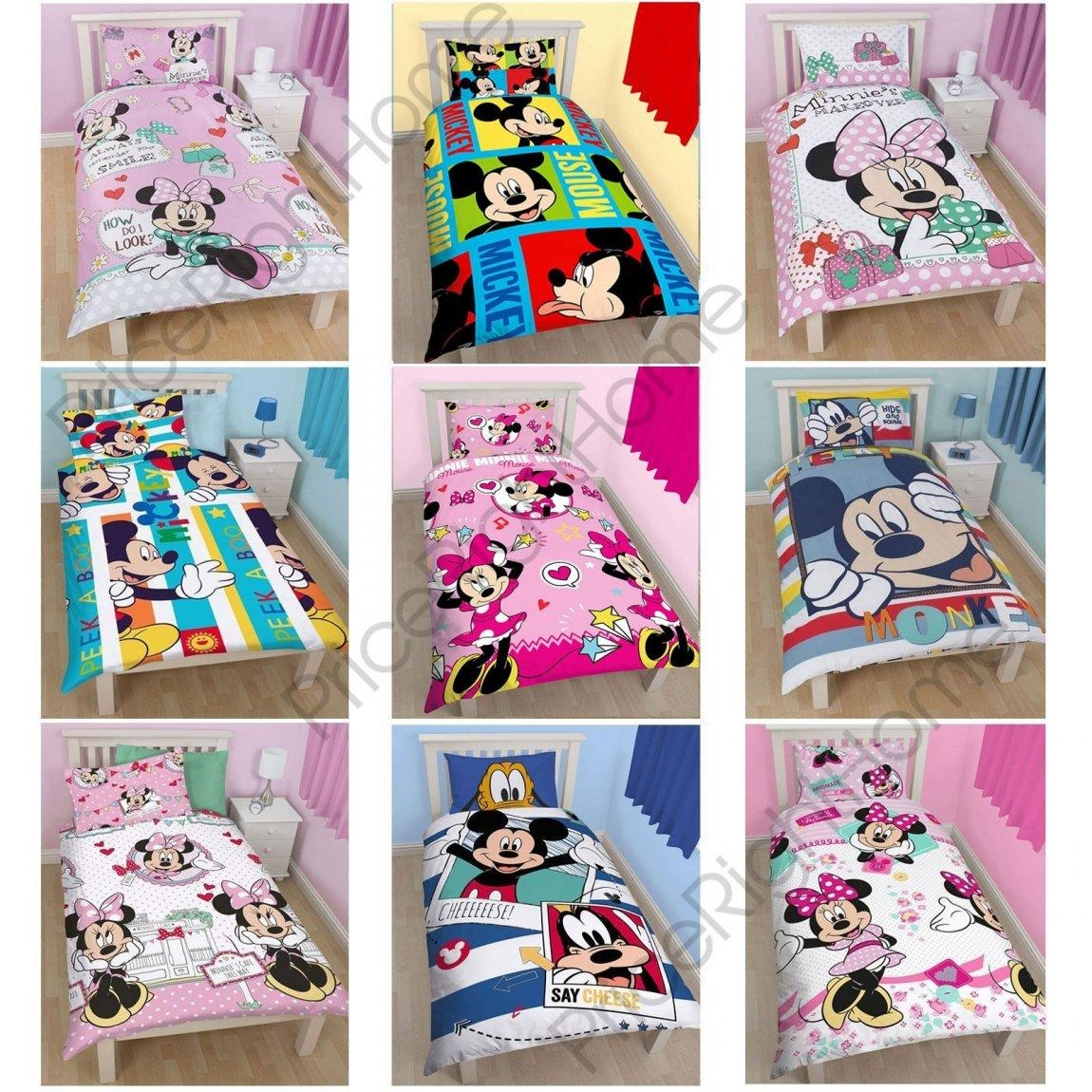 Minnie Mouse Quilt Bedroom Inspired Flannel Sheets Mickey Intended For Burlington Coat Factory Wall Art (Image 17 of 20)