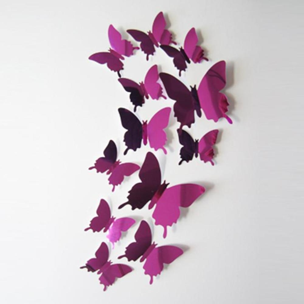 Mirrored Wall Art Reviews – Online Shopping Mirrored Wall Art Pertaining To Butterflies 3D Wall Art (Image 15 of 20)