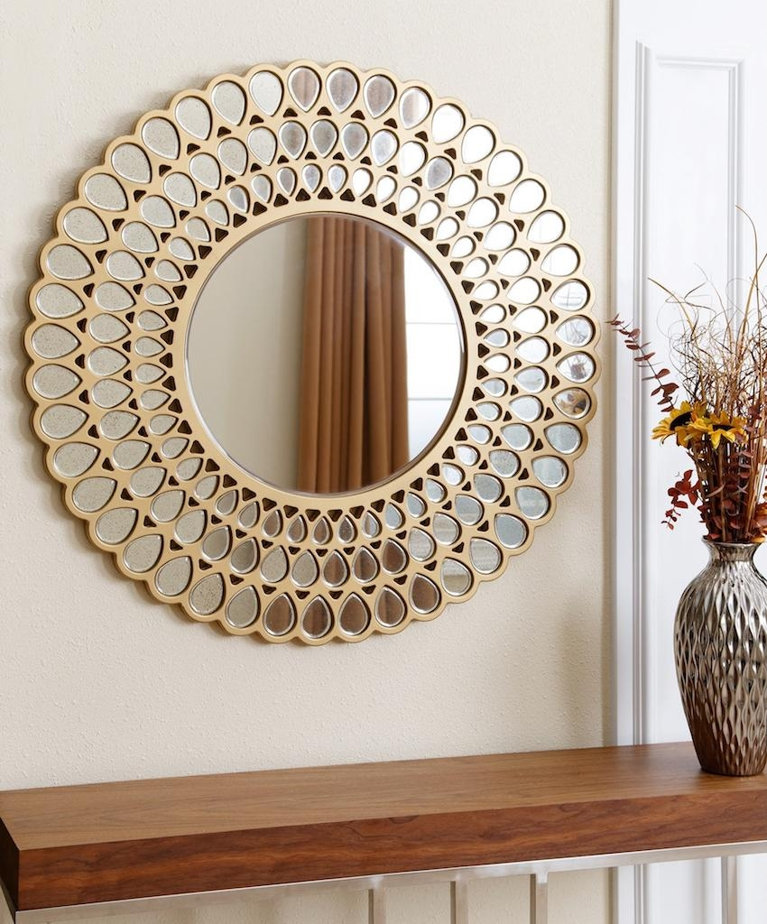 Mirrors: Marvellous Circle Wall Mirror Cheap Decorative Wall For Small Round Mirrors Wall Art (Image 10 of 20)