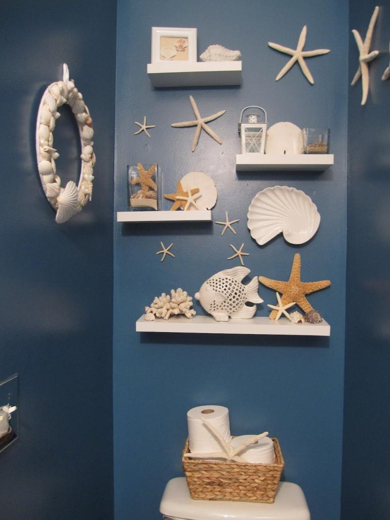 Modern Home Interior Design : Best 25 Small Bathroom Decorating Throughout Large Starfish Wall Decors (Image 17 of 20)