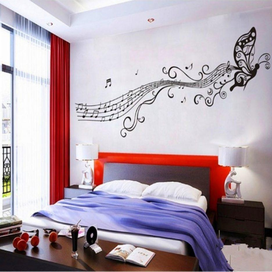 Modern Home Interior Design : Gray Guitar Wall Art Music Theme Within Music Themed Wall Art (View 13 of 20)