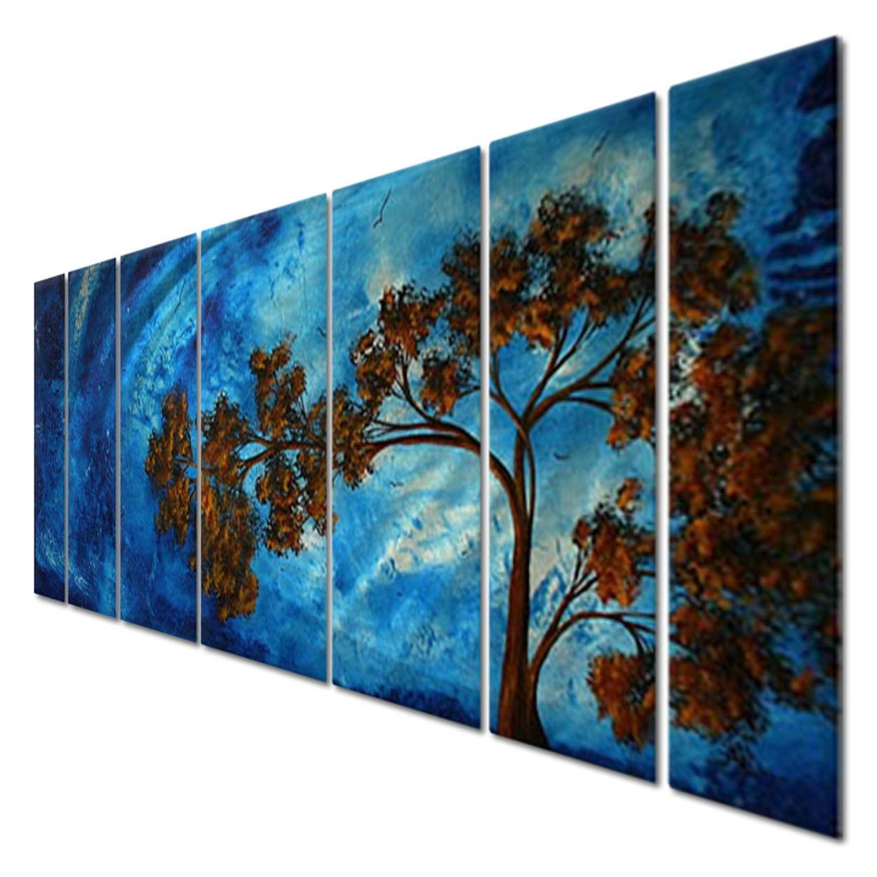 Modern Metal Wall Art Home Decor Megan Duncanson To The Sky With Regard To Megan Duncanson Metal Wall Art (Image 11 of 20)