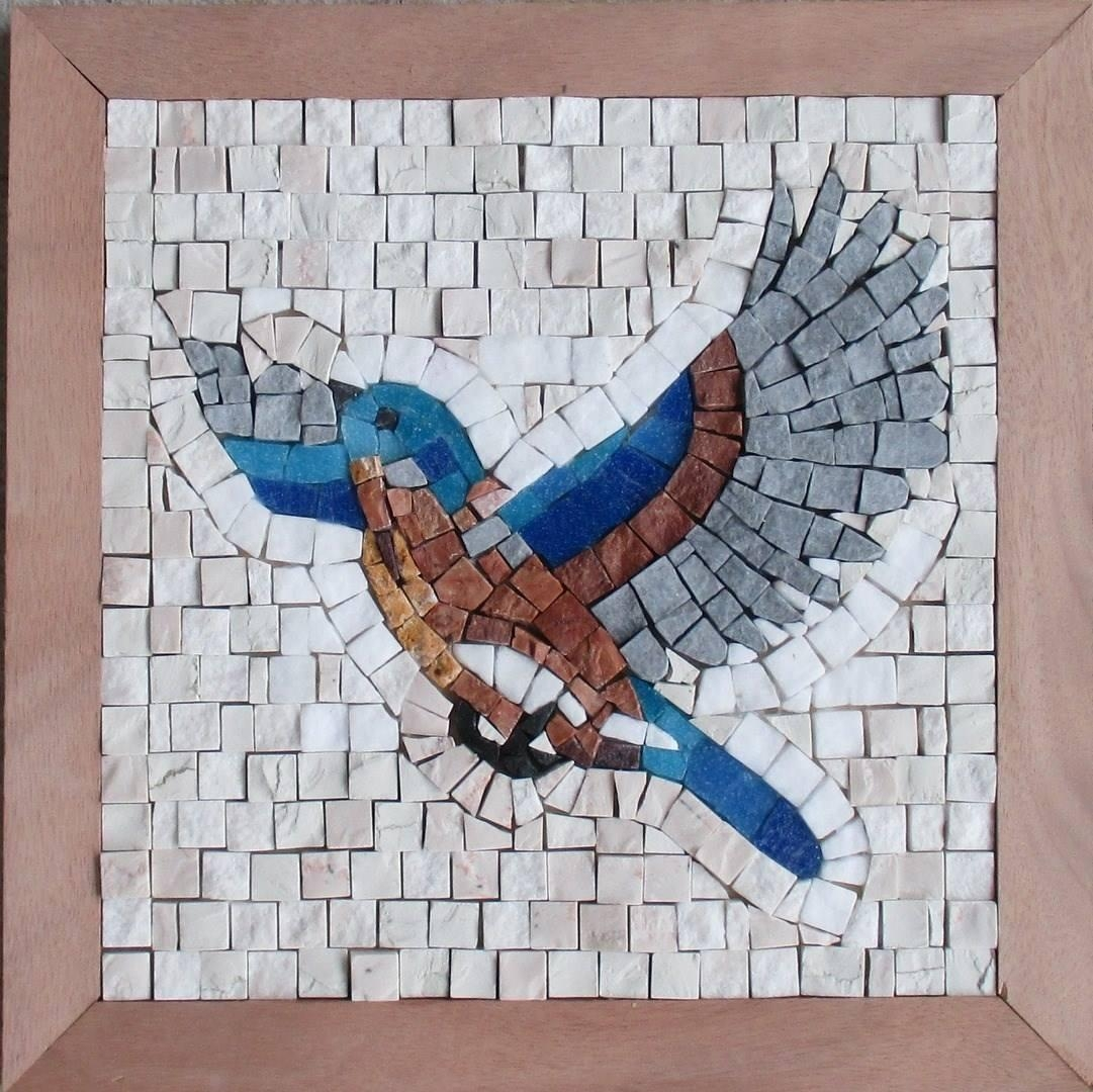 Modern Mosaic Kit, Diy Mosaic Art Kits – Myrijoy With Mosaic Wall Art Kits (Image 10 of 20)