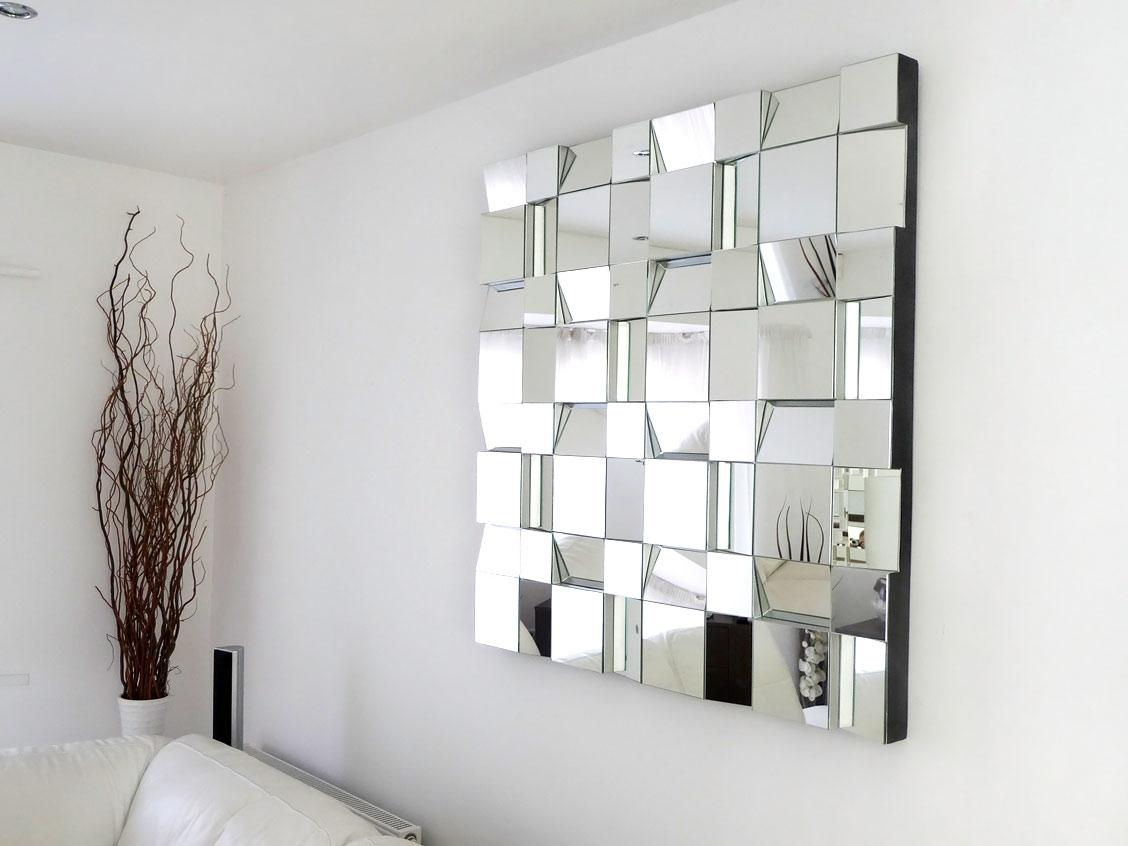 Modern Mosaic Mirror Wall Decor : Doherty House – Ideas Mosaic With Modern Mirror Wall Art (Image 12 of 20)