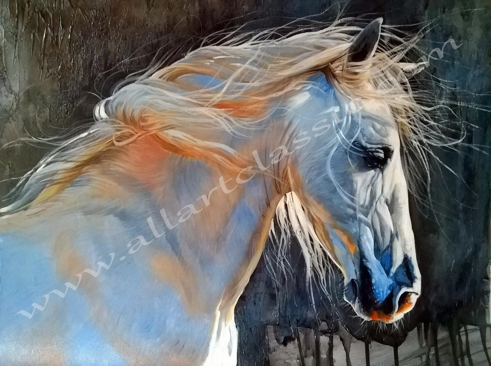 Modern Wall Art And Canvas Art Throughout Oil Painting Wall Art On Canvas (View 4 of 20)