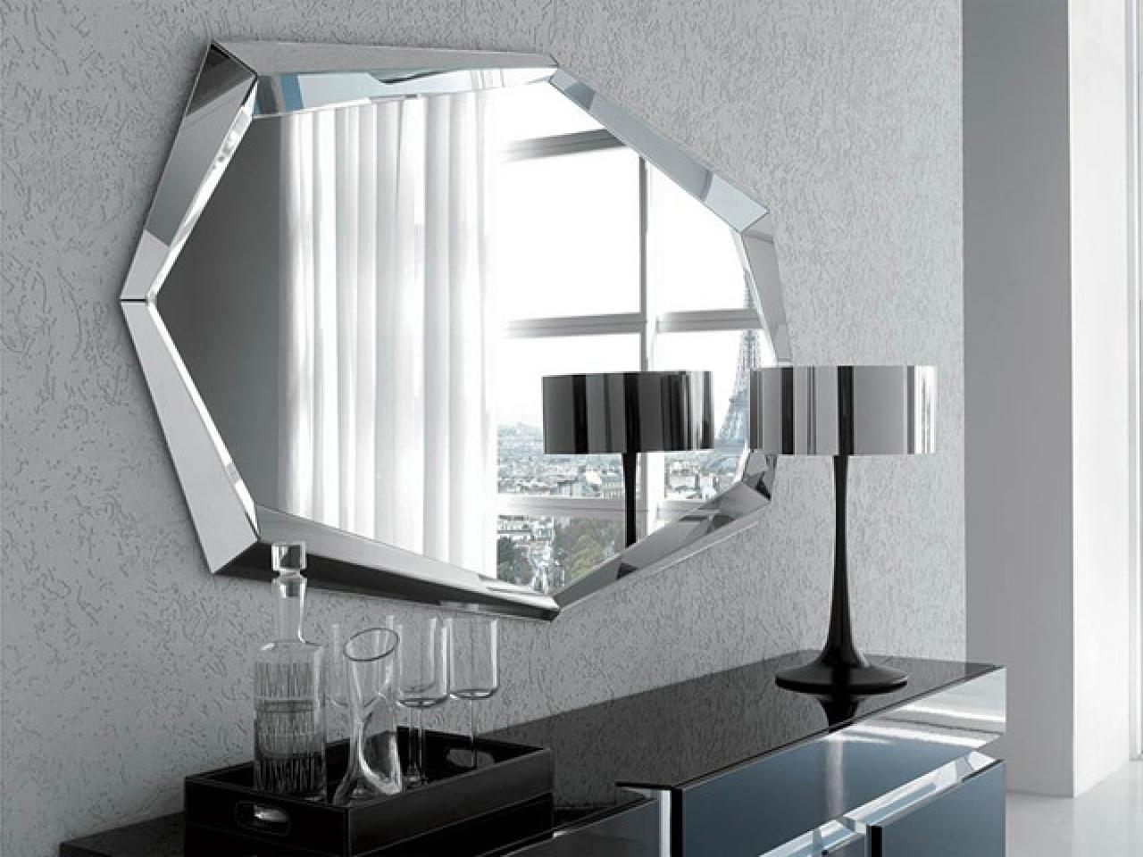 Modern Wall Mirrors Shapes : Doherty House – Decorate With With Mirrors Modern Wall Art (View 11 of 20)
