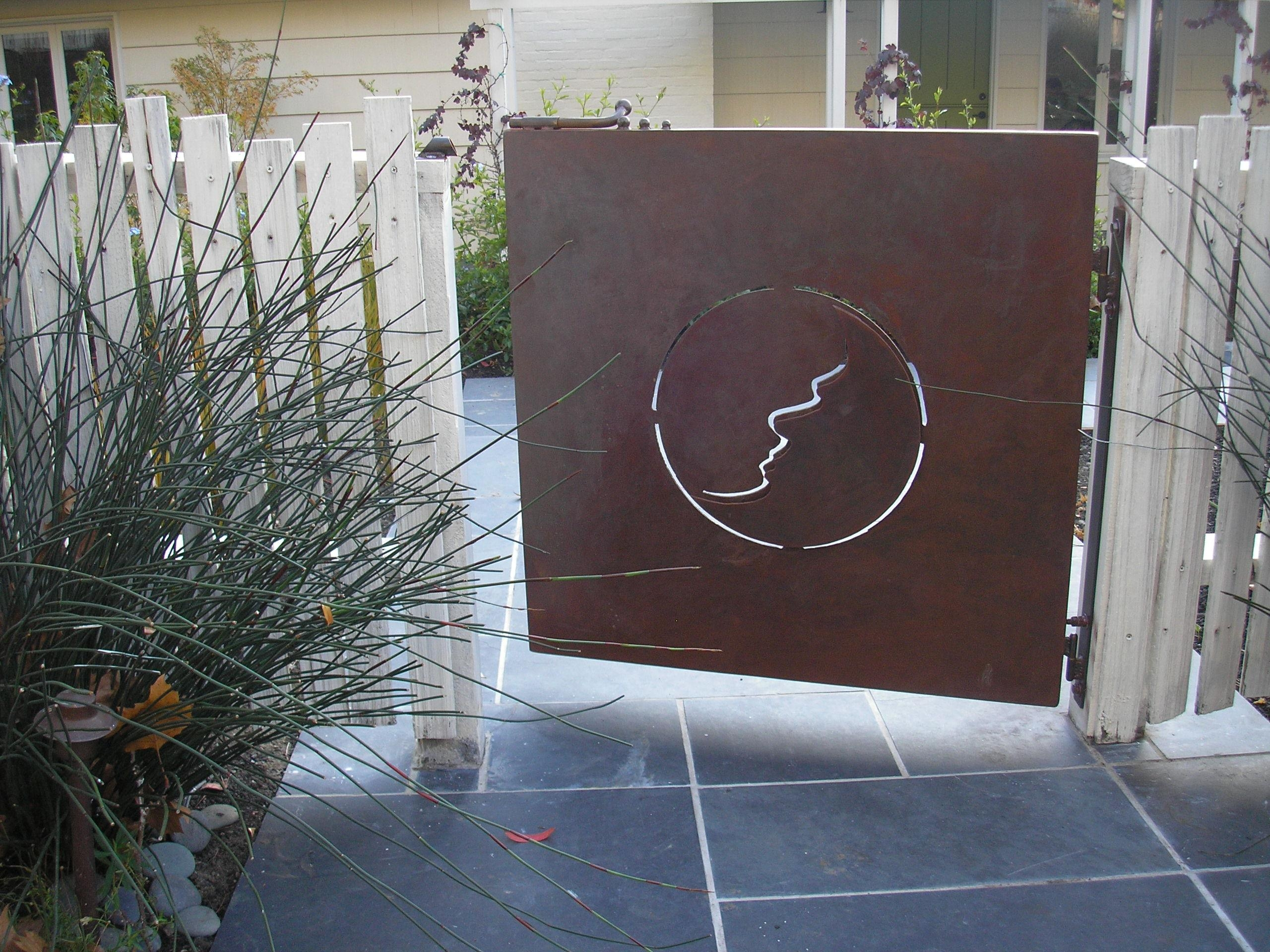 Moon Gate | Metalphoria – Buy Metal Sculpture And Metal Wall Art In Metal Gate Wall Art (Image 13 of 20)