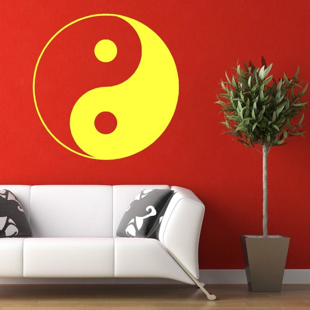 Mural Painting Picture – More Detailed Picture About Cutom Color For Chinese Symbol Wall Art (Image 10 of 20)