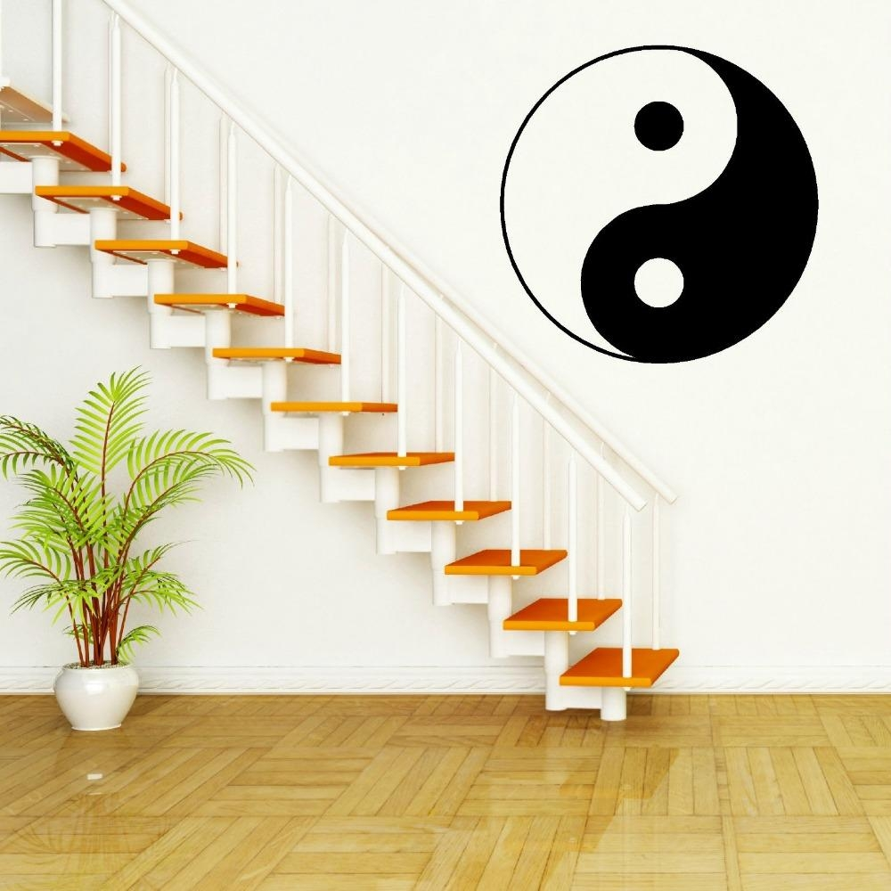 Mural Painting Picture – More Detailed Picture About Cutom Color With Chinese Symbol Wall Art (View 18 of 20)