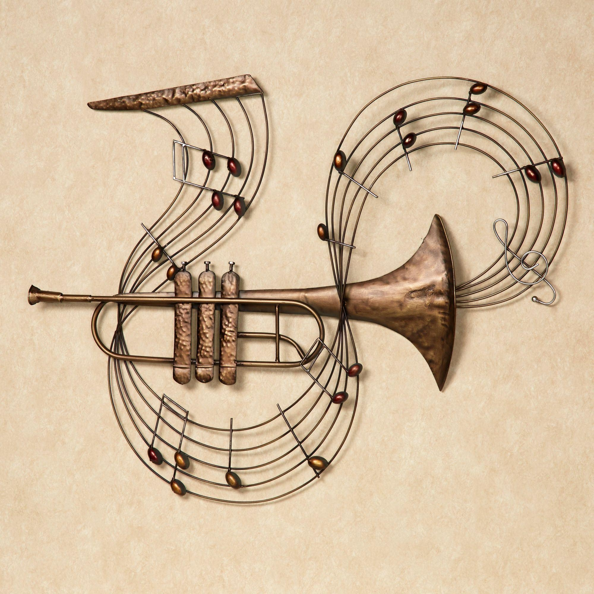 Music Wall Art | Touch Of Class Inside Metal Music Wall Art (Image 12 of 20)