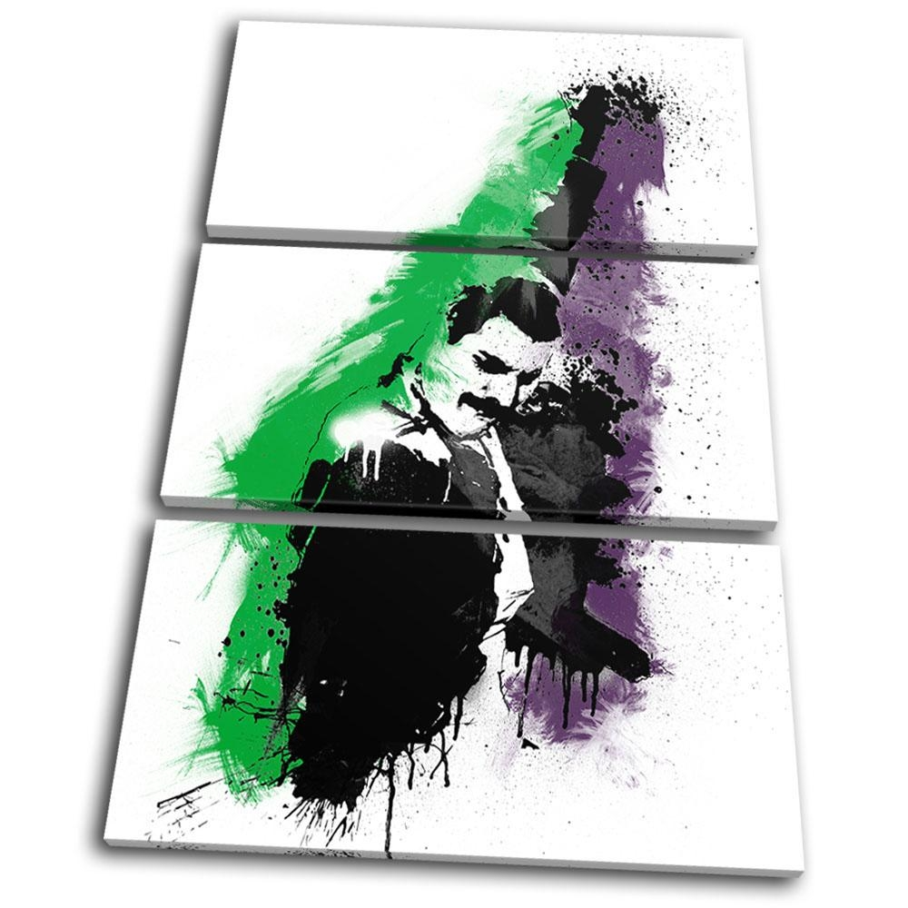 Musical Freddie Mercury Abstract Treble Canvas Wall Art Picture In Freddie Mercury Wall Art (View 20 of 20)