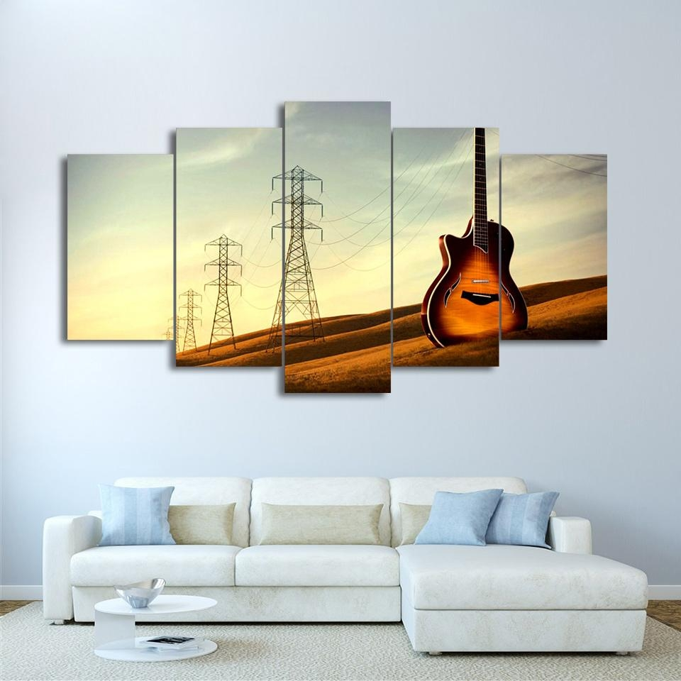 Musical Instruments Art Promotion Shop For Promotional Musical Within Musical Instrument Wall Art (View 11 of 20)
