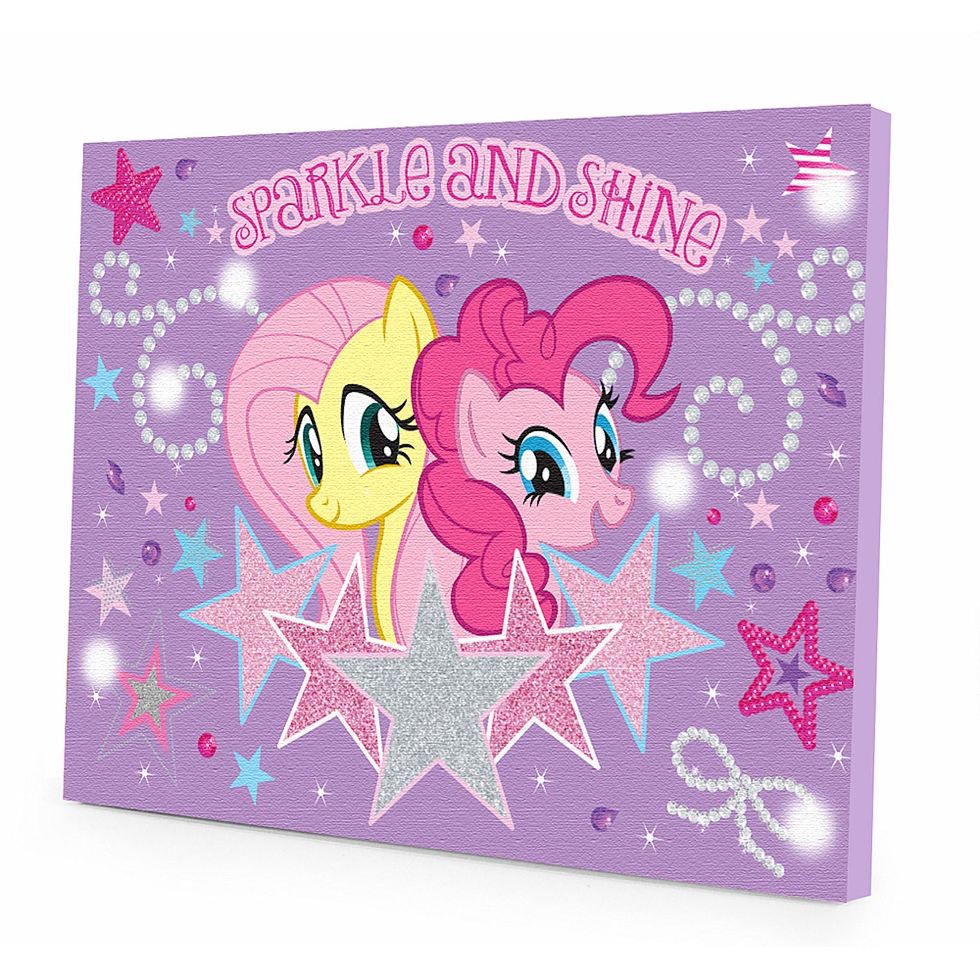 My Little Pony Light Up Canvas Wall Art With Bonus Led Lights Regarding Girls Canvas Wall Art (Image 18 of 20)