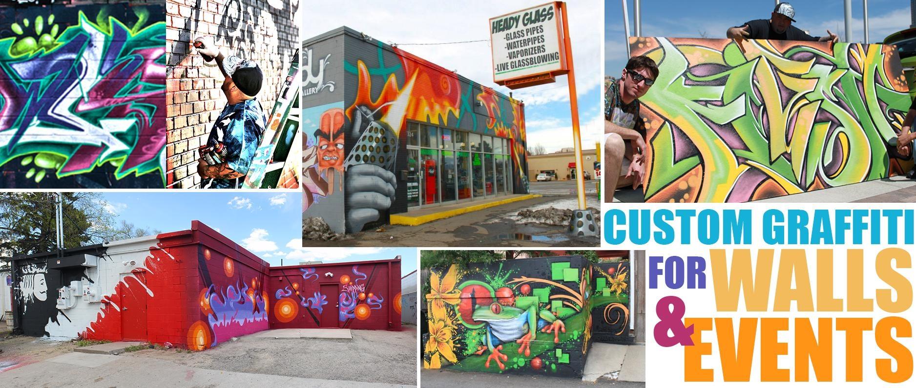 Featured Image of Personalized Graffiti Wall Art