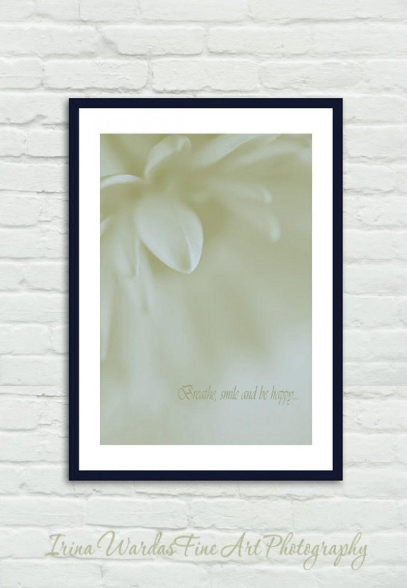 Neutral Abstract Art | Floral Abstract Photography | Modern Floral Art in Neutral Wall Art
