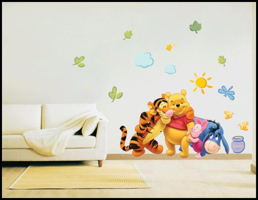 Nice Winnie The Pooh Wall Decals Ideas : Winnie The Pooh Wall Inside Winnie The Pooh Wall Decor (Image 7 of 20)