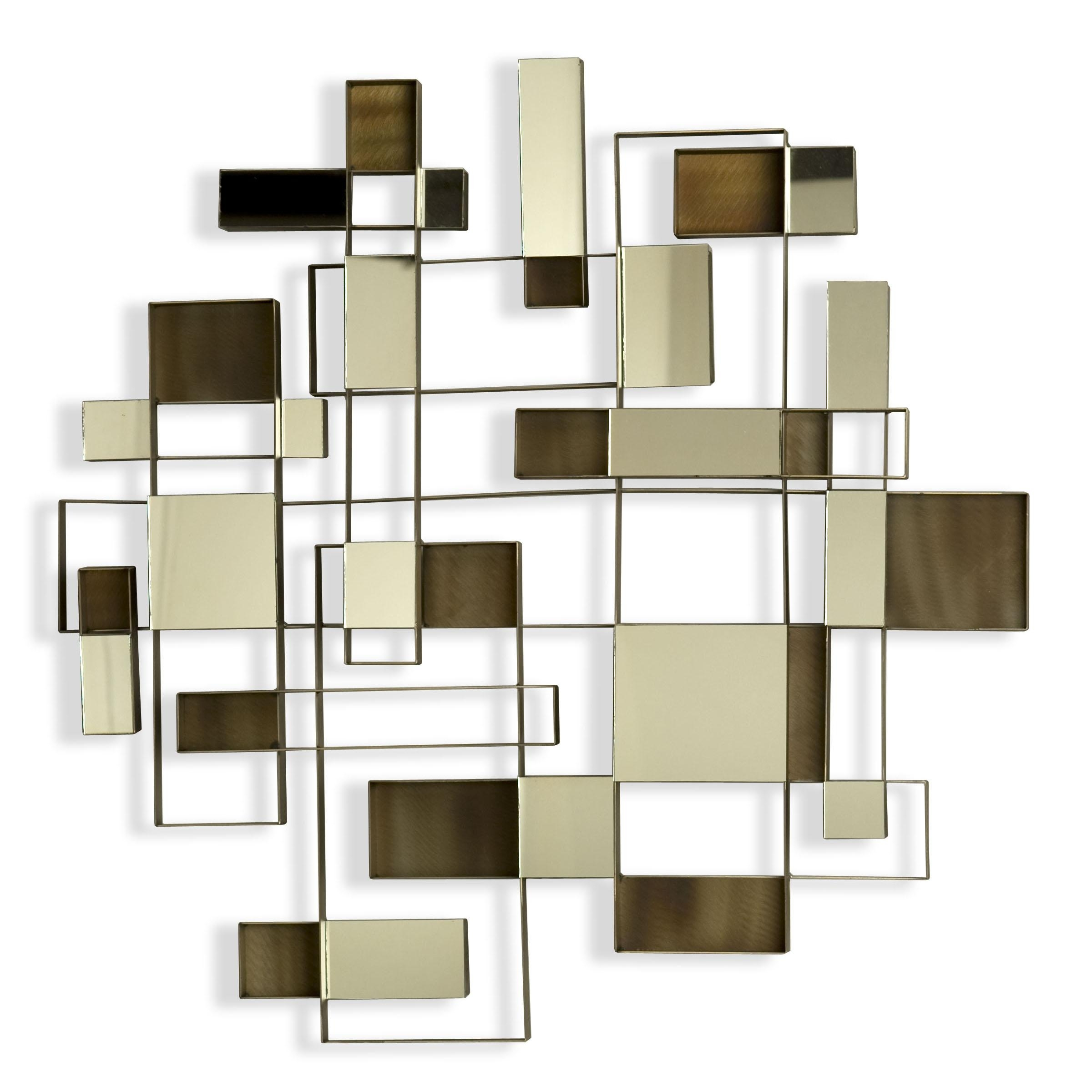 Nova Angles Wall Art Mirror 11827 With Regard To Nova Wall Art (Image 11 of 20)