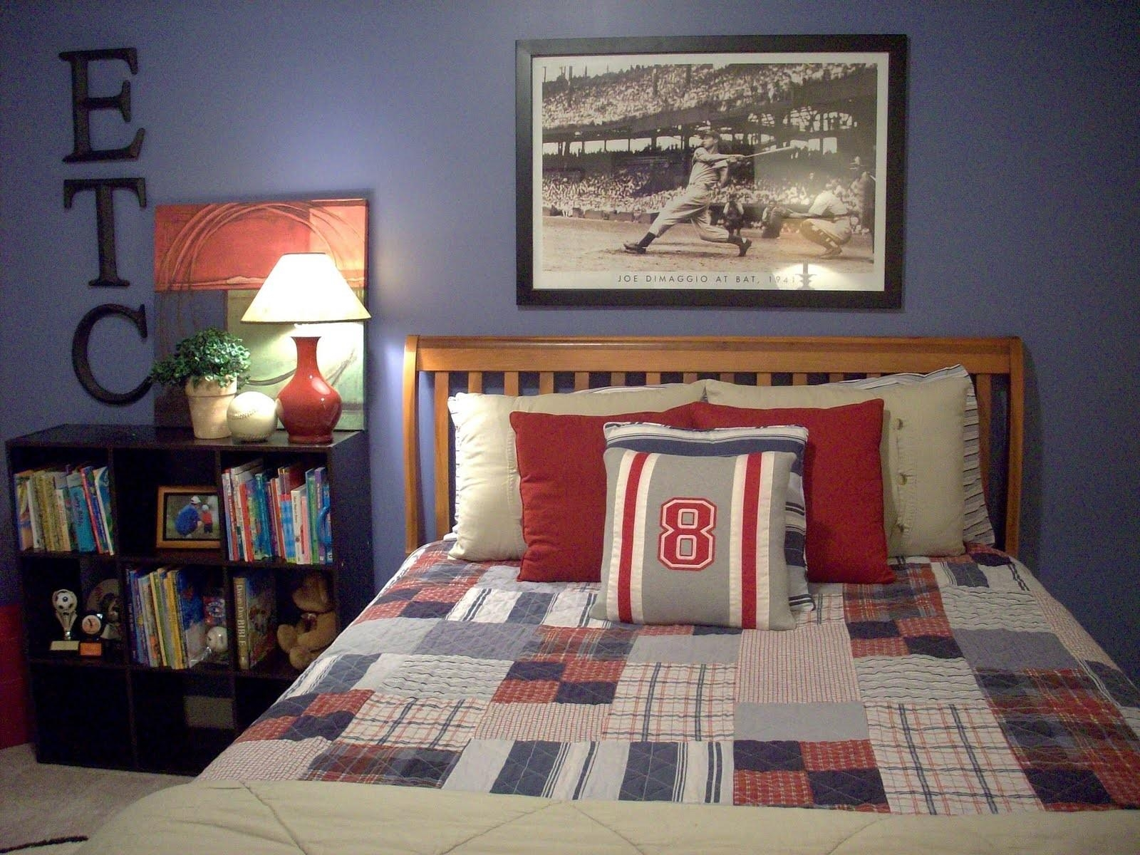 Nursery Beddings Sports Themed Wall Art Plus Vintage Baseball with regard to Vintage Baseball Wall Art