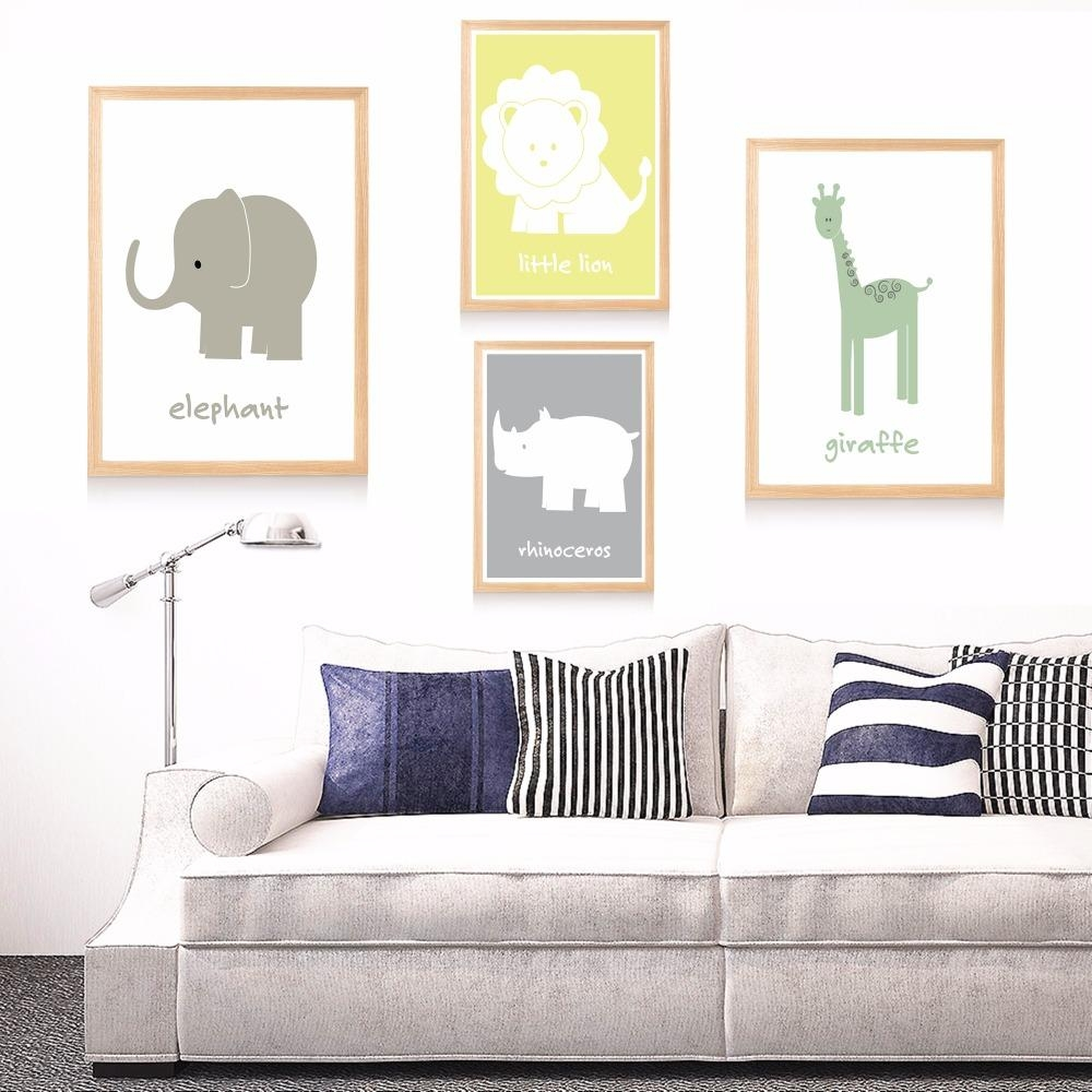 Nursery Canvas Art Promotion Shop For Promotional Nursery Canvas With Regard To Nursery Canvas Art (View 5 of 20)
