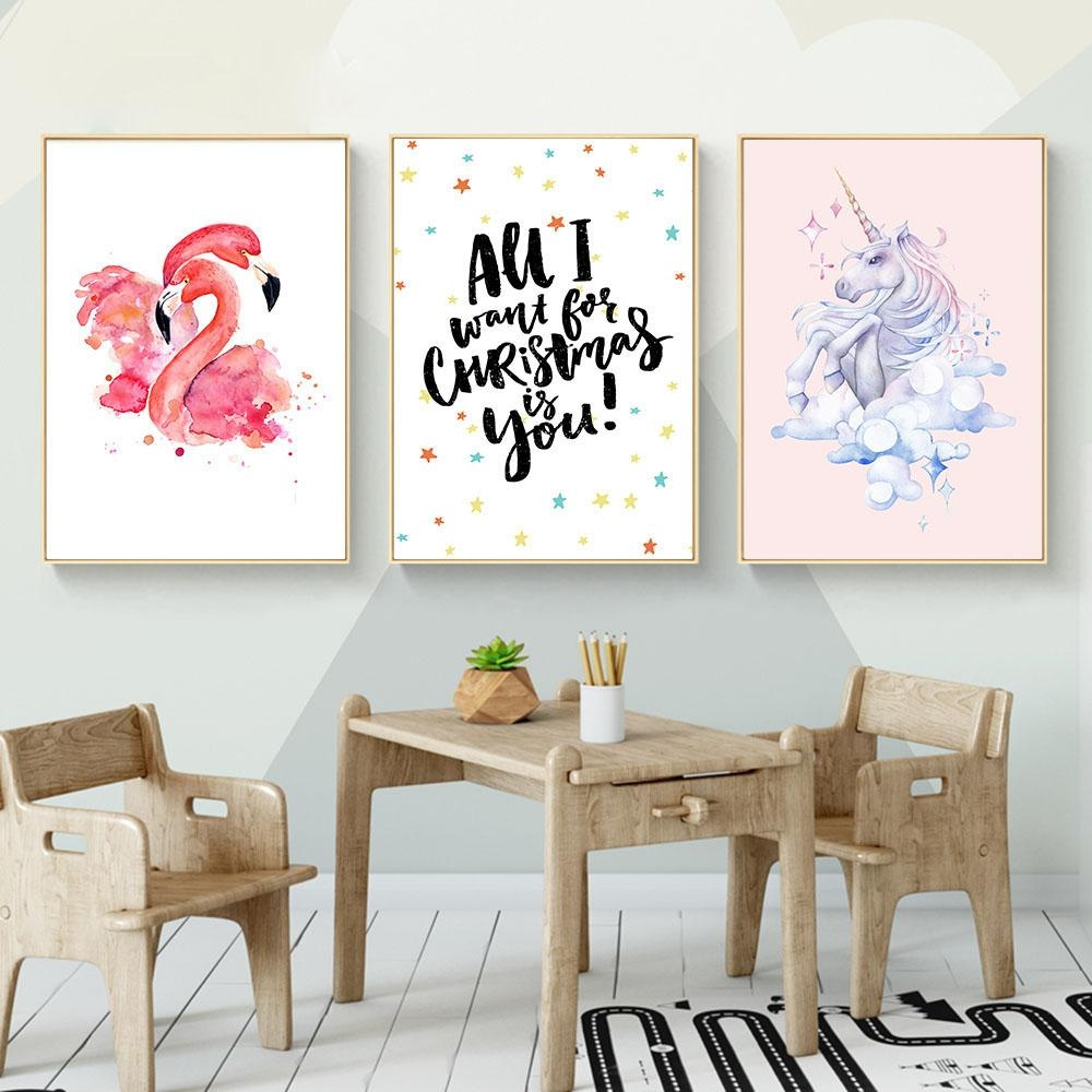 Nursery Canvas Promotion Shop For Promotional Nursery Canvas On Inside Nursery Canvas Art (View 9 of 20)