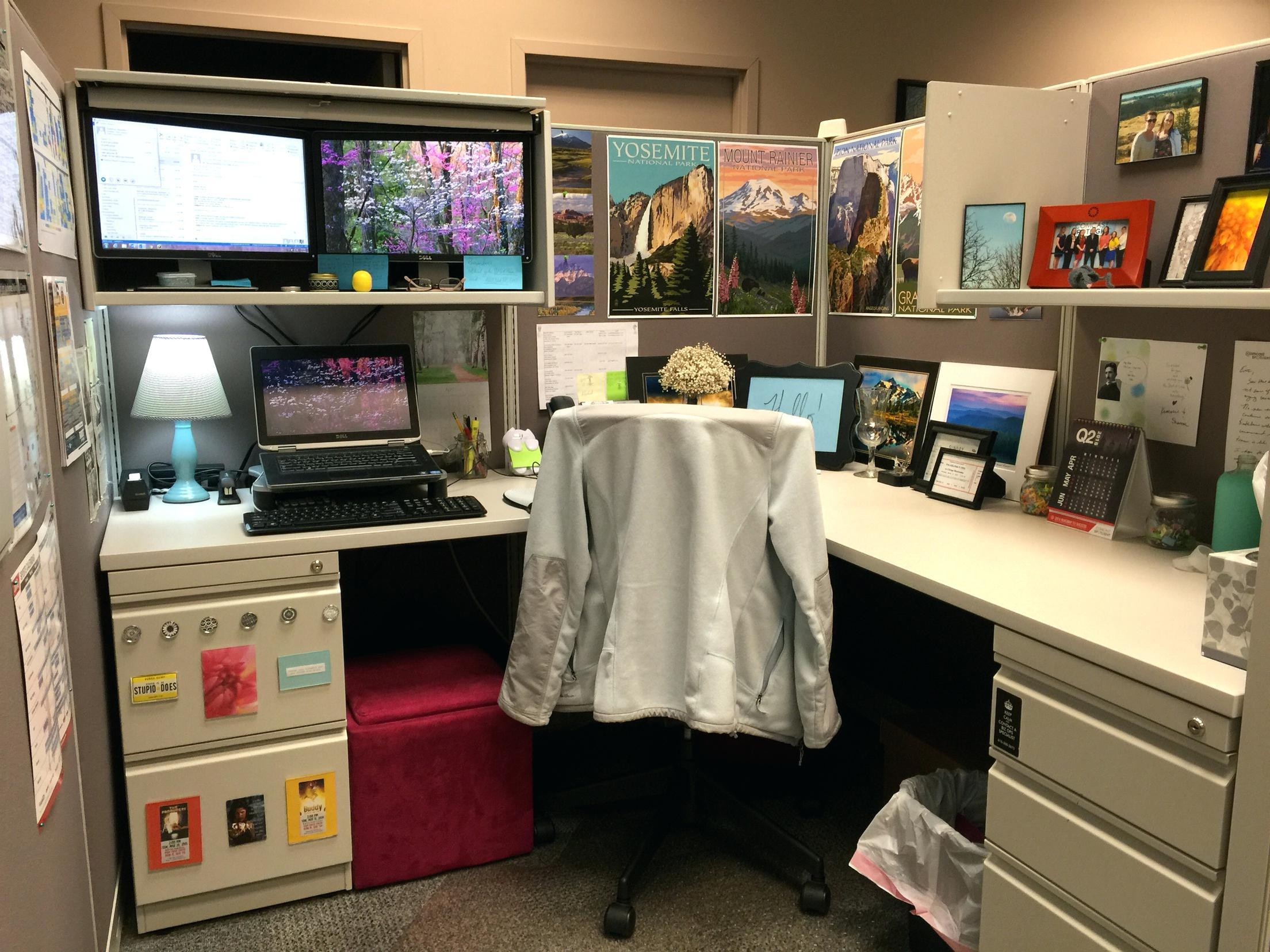 Office Design: Office Cubicle Wall Accessories (View 6 of 20)