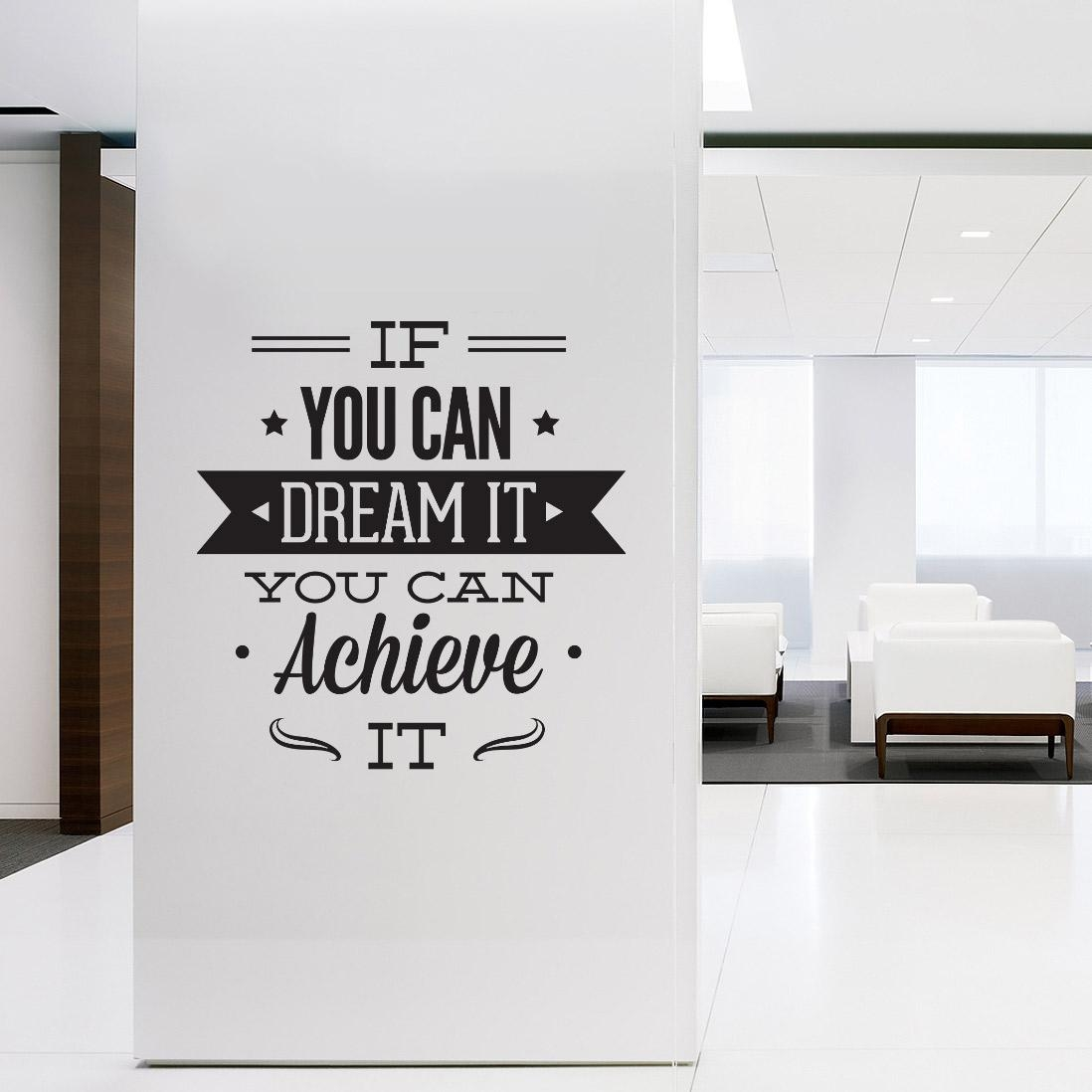 Office Wall Decals Art Ideas | Inspiration Home Designs Within Inspirational Wall Decals For Office (View 15 of 20)