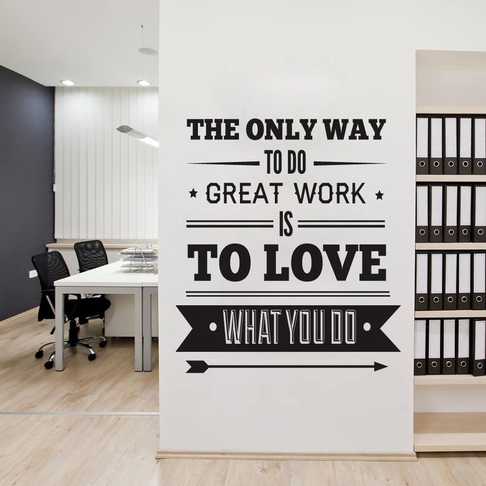 Office Wall Decor – Video And Photos | Madlonsbigbear Throughout Wall Art For Offices (Image 13 of 20)