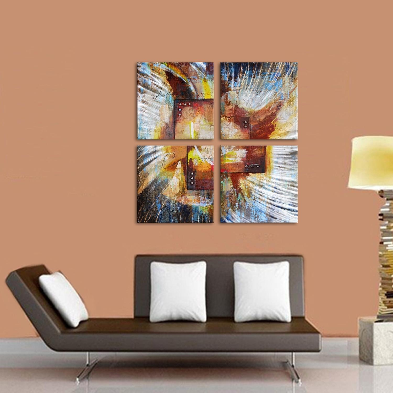 Oil Painting, Oil Paintings For Sale Online, Canvas Art Supplier Throughout Colorful Abstract Wall Art (Image 16 of 20)