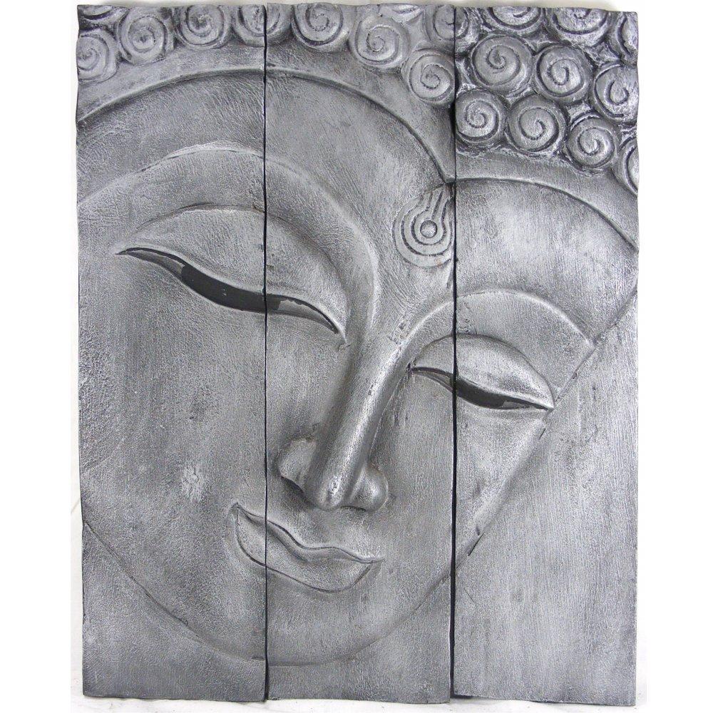 Featured Photo of Silver Buddha Wall Art