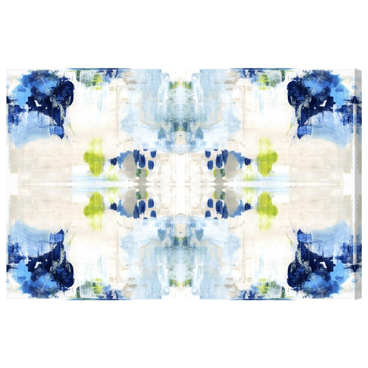 Oliver Gal Kaleidoscope Canvas Wall Art Intended For Kaleidoscope Wall Art (Image 14 of 20)