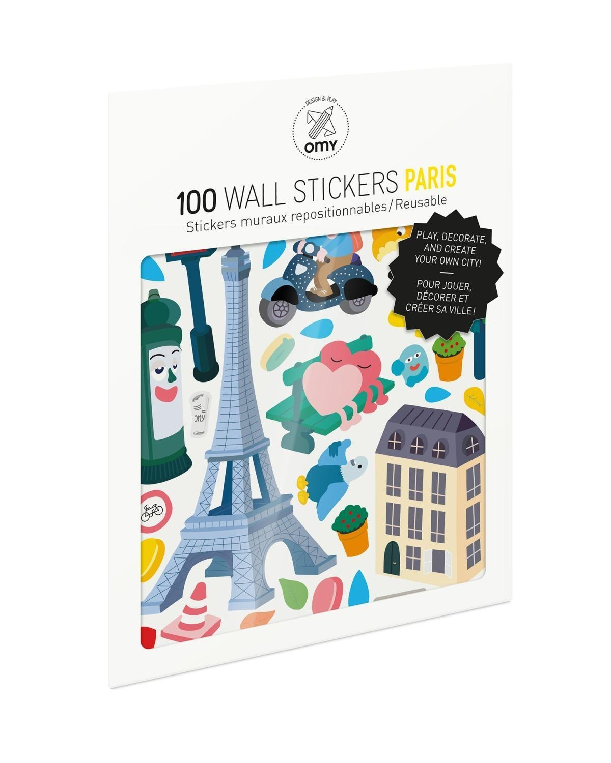 Omy Paris Stickers – Little With Regard To Paris Themed Stickers (View 9 of 20)
