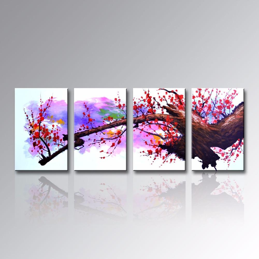 Online Buy Wholesale Asian Wall Art From China Asian Wall Art Inside Asian Wall Art Panels (View 14 of 20)