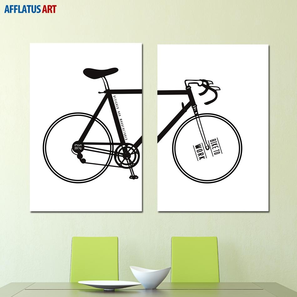 Online Buy Wholesale Bicycle Wall Art From China Bicycle Wall Art For Cycling Wall Art (Image 13 of 20)