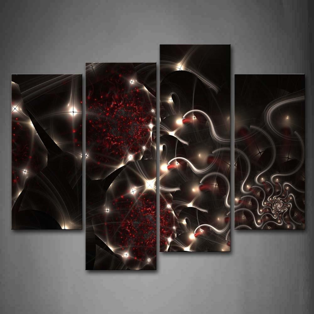 Online Buy Wholesale Black White Red Wall Art From China Black Throughout Black And White Wall Art With Red (View 20 of 20)
