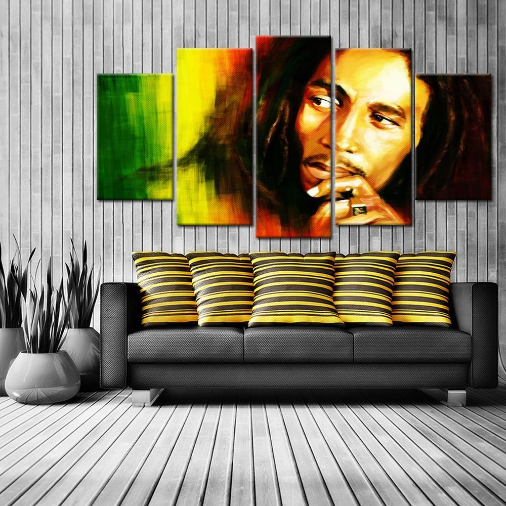 Online Buy Wholesale Bob Marley Canvas From China Bob Marley Inside Bob Marley Canvas Wall Art (View 6 of 20)