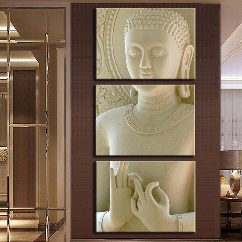 Online Buy Wholesale Buddha Framed Art From China Buddha Framed Within Buddha Wooden Wall Art (View 14 of 20)