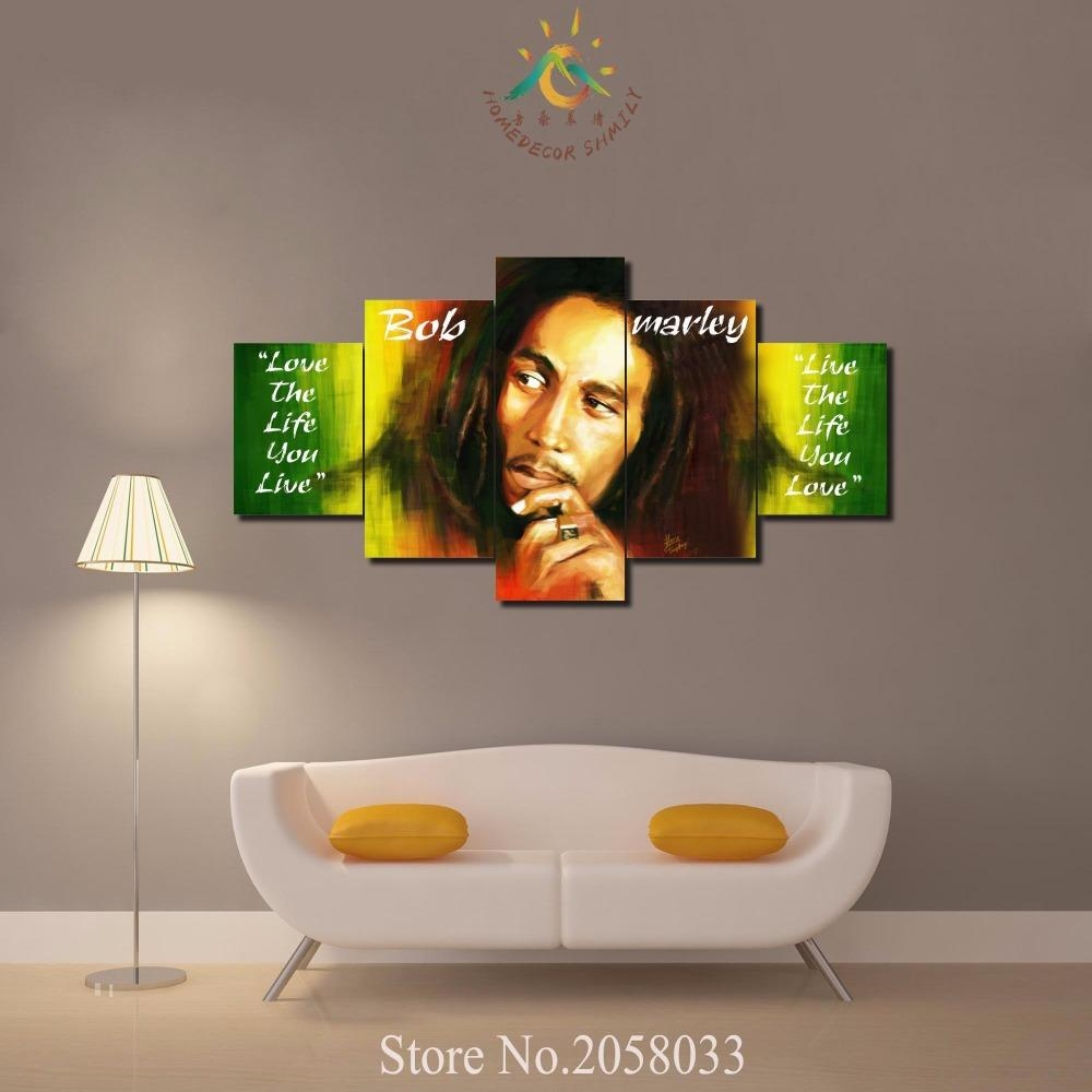 Online Buy Wholesale Canvas Bob Marley From China Canvas Bob In Bob Marley Canvas Wall Art (View 10 of 20)