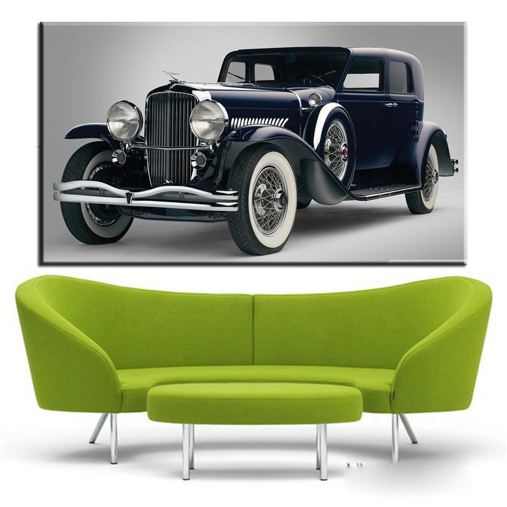 Online Buy Wholesale Classic Car Wall Art From China Classic Car In Classic Car Wall Art (Image 9 of 20)