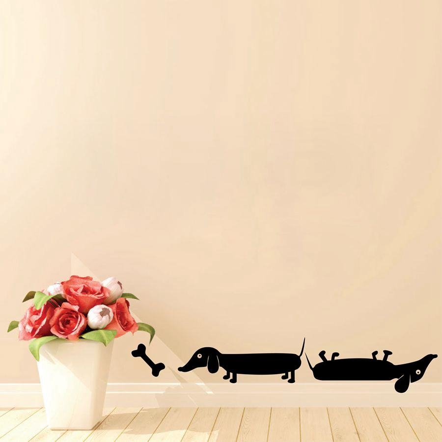 Online Buy Wholesale Dachshund Wall Art From China Dachshund Wall Inside Dachshund Wall Art (Image 13 of 20)