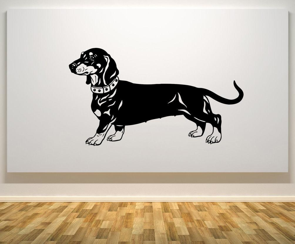 Online Buy Wholesale Dachshund Wall Art From China Dachshund Wall Within Dachshund Wall Art (Image 14 of 20)