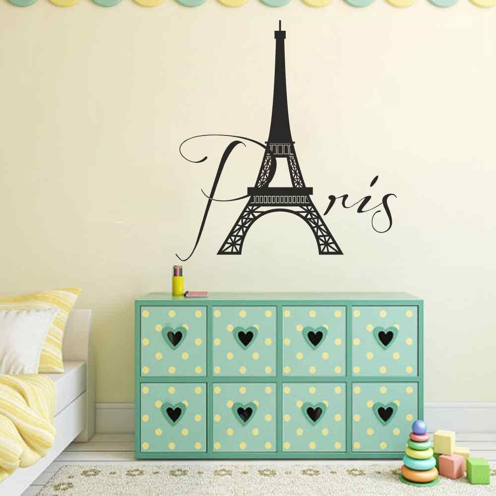 Online Buy Wholesale Eiffel Tower Wall Decal From China Eiffel Regarding Eiffel Tower Wall Art (Image 11 of 20)