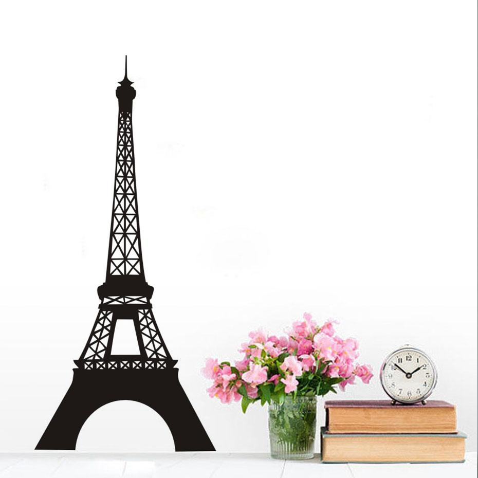 Online Buy Wholesale Eiffel Tower Wall Decal From China Eiffel With Eiffel Tower Wall Art (Image 12 of 20)