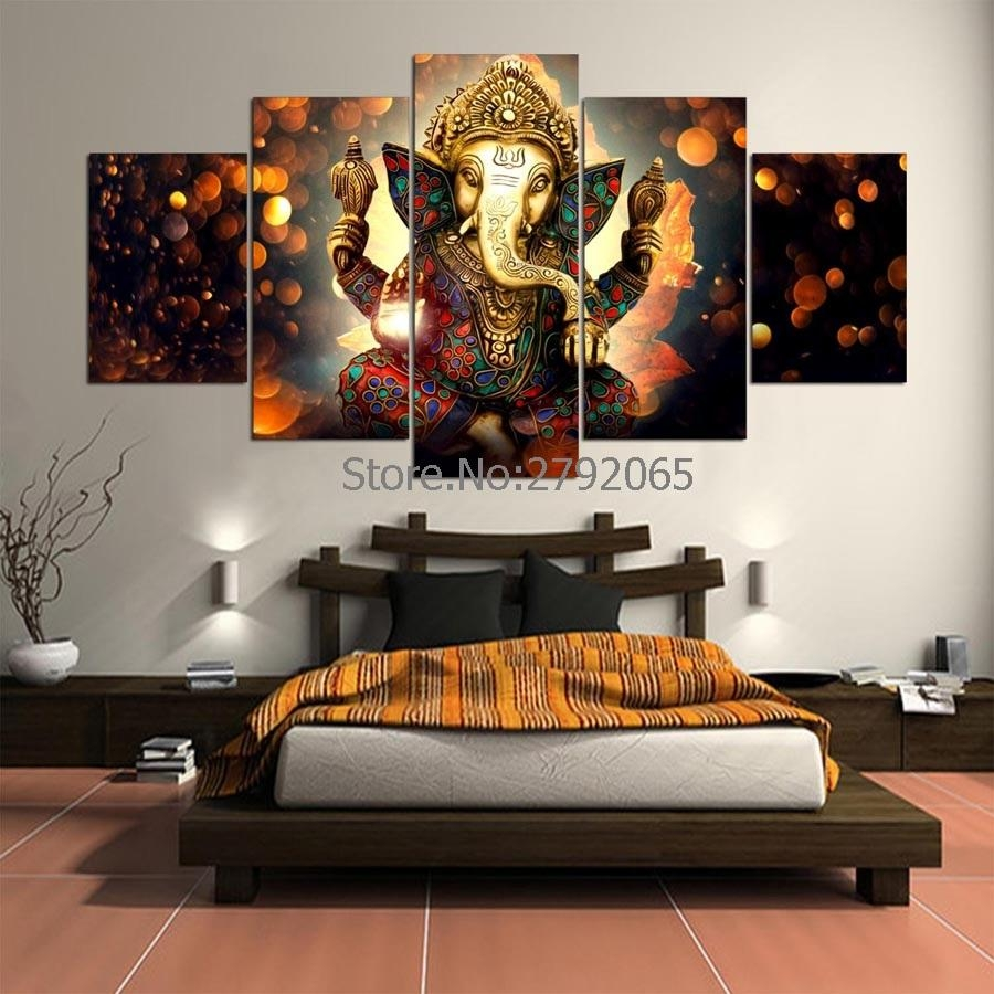 Online Buy Wholesale Ganesha Wall Art From China Ganesha Wall Art With Ganesh Wall Art (View 13 of 20)