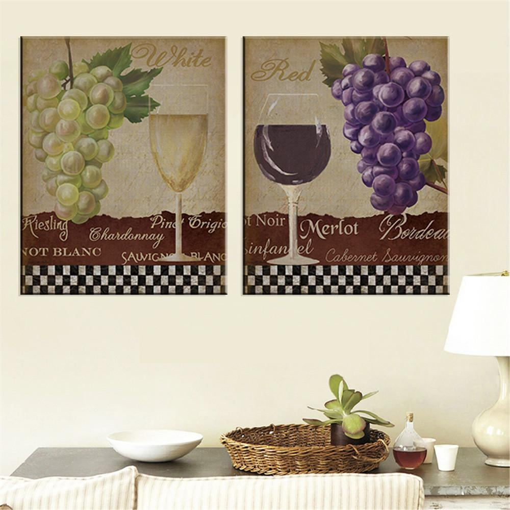 Online Buy Wholesale Grape Wall Art From China Grape Wall Art For Grape Wall Art (Image 13 of 20)