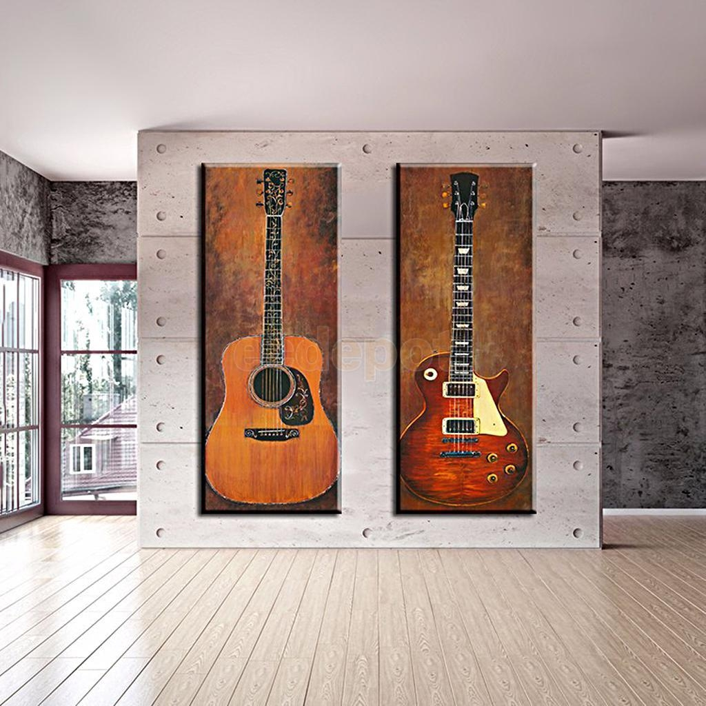 Online Buy Wholesale Guitar Canvas Wall Art From China Guitar Regarding Guitar Canvas Wall Art (View 9 of 20)