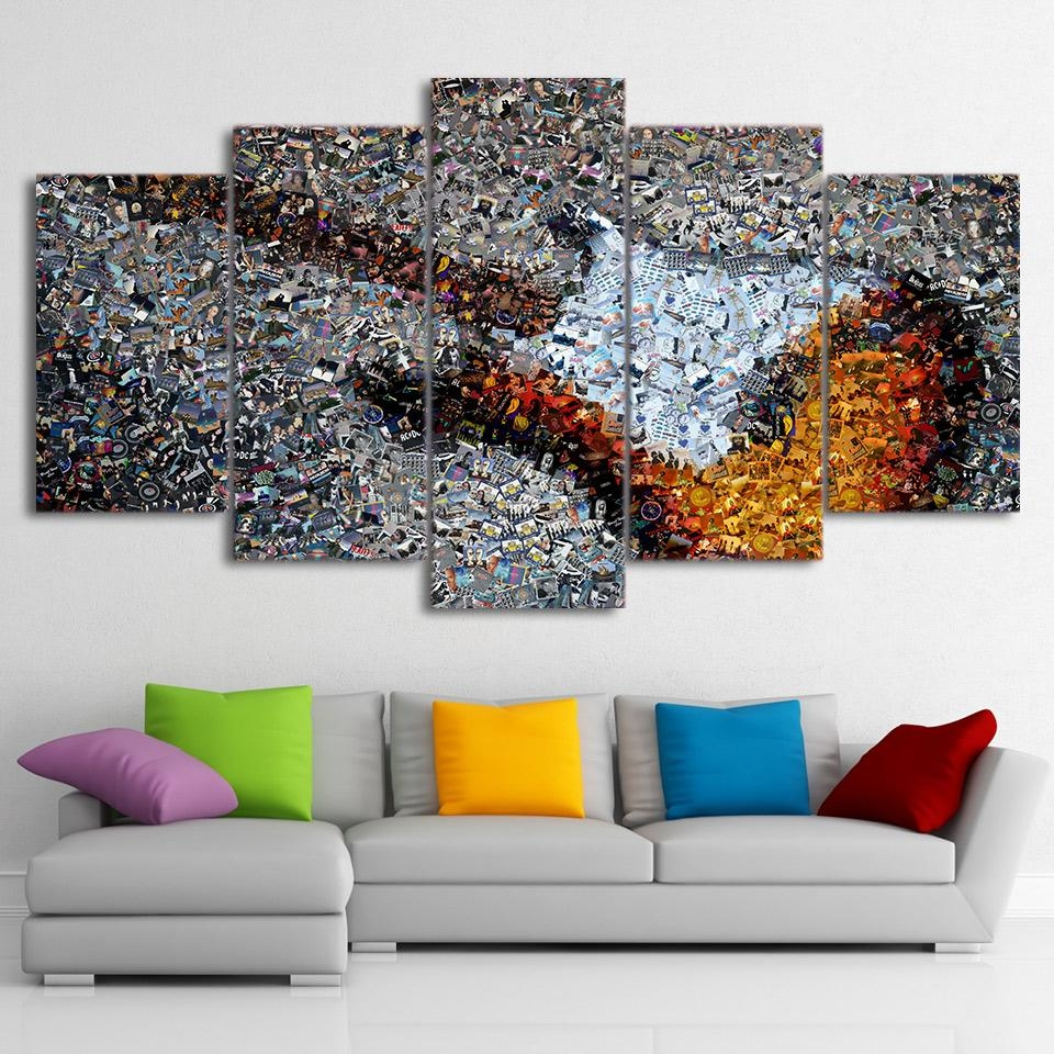 Online Buy Wholesale Guitar Wall Art From China Guitar Wall Art Regarding Guitar Canvas Wall Art (View 11 of 20)